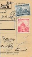 BuM (IMG2027) - Böhmen Und Mähren (1941) Prag 23 - Praha 23 / Hussinetz - Husinec (Postal Parcel Dispach) Tariff 5,50 K - Böhmen Und Mähren