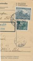 BuM (IMG2028) - Böhmen Und Mähren (1941) Pibrans - Pribram / Prag-Protiwin - Pr... (Postal Parcel Dispach) Tariff 4,50 K - Böhmen Und Mähren