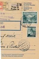 BuM (IMG2030) - Böhmen Und Mähren (1942) Prag 36 - Praha 36 / Tschischow - Cizova (Postal Parcel Dispach) Tariff 5,50 K - Böhmen Und Mähren