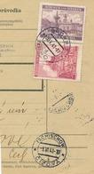 BuM (IMG2032) - Böhmen Und Mähren (1941) Brünn 7 - Brno 7 / Tschischow - Cizova (Postal Parcel Dispach) Tariff 7,50 K - Böhmen Und Mähren