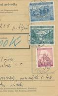 BuM (IMG2033) - Böhmen Und Mähren (1941) Pilsen 8 - Plzen / Hussinetz - Husinec (Postal Parcel Dispach) Tariff: 16,00 K - Böhmen Und Mähren