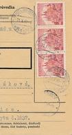 BuM (IMG2034) - Böhmen Und Mähren (1941) Aujest Bei Heiligenkreutz - Ujezd U S.. (Postal Parcel Dispach) Tariff: 4,50 K - Böhmen Und Mähren