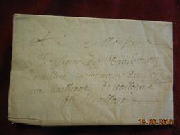 Lettre De 1755 De Jouy à Destination De Valogne - 1701-1800: Précurseurs XVIII