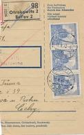 BuM (IMG2036) - Böhmen Und Mähren (1942) Otrokowitz 2 - Batov 2 / Tschischow - .. (Postal Parcel Dispach) Tariff: 7,50 K - Böhmen Und Mähren