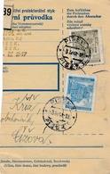 BuM (IMG2037) - Böhmen Und Mähren (1941) Pisek 1 - Pisek 1 (Postal Parcel Dispach) Tariff: 5,00 K - Böhmen Und Mähren
