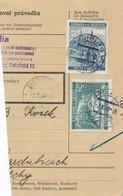 BuM (IMG2038) - Böhmen Und Mähren (1941) Brünn 10 - Brno 10 / Pardubitz 1 - ... (Postal Parcel Dispach) Tariff: 7,50 K - Böhmen Und Mähren