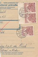 BuM (IMG2039) - Böhmen Und Mähren (1942) Pilsen 4 - Plzen 4 / Tschischow - Cizova (Postal Parcel Dispach) Tariff: 4,50 K - Böhmen Und Mähren