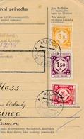 BuM (IMG2040) - Böhmen Und Mähren (1941) Welichow - Velichovky / Hussinetz - H... (Postal Parcel Dispach) Tariff: 7,70 K - Böhmen Und Mähren