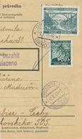 BuM (IMG2041) - Böhmen Und Mähren (1941) Brünn 20 - Brno 20 / Pardubitz 1 - Pa... (Postal Parcel Dispach) Tariff: 5,50 K - Böhmen Und Mähren