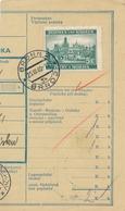 BuM (IMG2042) - Böhmen Und Mähren (1940) Brünn 2 - Brno 2 / Tschischow - Cizova (Postal Parcel Dispach) Tariff: 5,00 K - Böhmen Und Mähren