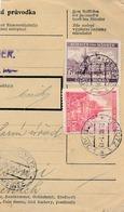 BuM (IMG2044) - Böhmen Und Mähren (1941) Olmütz 1 - Olomouc 1 / Hussinetz - ... (Postal Parcel Dispach) Tariff: 7,50 K - Böhmen Und Mähren