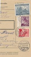 BuM (IMG2045) - Böhmen Und Mähren (1941) Budweis 3 - Ceske Budejovice 3 (Postal Parcel Dispach) Tariff: 4,50 K - Böhmen Und Mähren