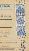 BuM (IMG2047) - Böhmen Und Mähren (1942) Prag 33 - Praha 33 (machine Postmark!!!) (Postal Parcel Dispach) Tariff: 7,50 K - Böhmen Und Mähren