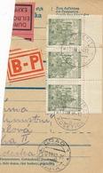 BuM (IMG2048) - Böhmen Und Mähren (1942) Koschetitz - Kosetice / Prag 1 - Praha 1 (Postal Parcel Dispach) Tariff: 9,00 K - Böhmen Und Mähren