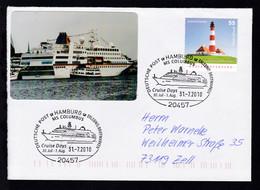 HAMBURG 20457 DEUTSCHE POST ERLEBNIS BRIEFMARKEN MS COLUMBUS Cruise Days  - Deutschland