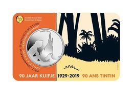 Belgie 2019 5 Euro Kuifje - Tintin In Coincard - Bélgica