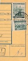 BuM (IMG2050) - Böhmen Und Mähren (1939) Nemcice U Klatov / (1/780) / Pilsen 1 ... (Postal Money Dispach) Tariff: 2,50 K - Böhmen Und Mähren