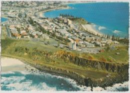 Australia QUEENSLAND QLD Aerial View Point Danger COOLANGATTA Murray Views W25B Postcard C1970s - Gold Coast