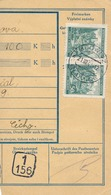 BuM (IMG2052) - Böhmen Und Mähren (1940) Blowitz - Blovice / Misliw - Mysliv (Postal Money Dispach) Tariff: 1,00 K - Böhmen Und Mähren