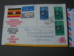 Uganda 1965 Cv. Birds Vögel - Uganda (1962-...)