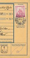 BuM (IMG2053) - Böhmen Und Mähren (1940) Königshof - Kraluv Dvur U Berouna (Postal Money Dispach) Tariff: 1,00 K - Böhmen Und Mähren