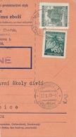 BuM (IMG2054) - Böhmen Und Mähren (1941) Prag 60 - Praha 60 / Pardubitz 1 - ... (Postal Parcel Dispach) Tariff: 2,50 K - Böhmen Und Mähren