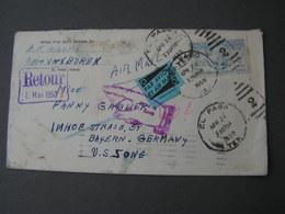 USA Return Cv, 1950 - Vereinigte Staaten