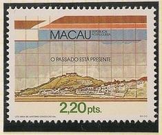 Macau Portugal China Chine 1986 - O Passado Está Presente - Anniversary Of Macao The Past Is Still Present - MNH Neuf - Macau