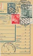 BuM (IMG2059) - Böhmen Und Mähren (1940) Prag 67 - Praha 67 / ... (Postal Parcel Dispach) Tariff: 2,20 K (+ 50 H) - Böhmen Und Mähren