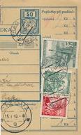 BuM (IMG2060) - Böhmen Und Mähren (1940) Prag 73 - Praha 73 / ... (Postal Parcel Dispach) Tariff: 2,70 K (+ 50 H) - Böhmen Und Mähren