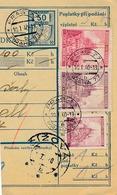 BuM (IMG2061) - Böhmen Und Mähren (1940) Prag 77 - Praha 77 / ... (Postal Parcel Dispach) Tariff: 3,70 K (+ 50 H) - Böhmen Und Mähren