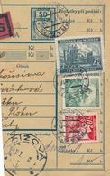 BuM (IMG2063) - Böhmen Und Mähren (1940) Prag 73 - Praha 73 / ... (Postal Parcel Dispach) Tariff: 4,70 K (+ 50 H) - Böhmen Und Mähren