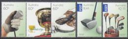 AUSTRALIA, 2011 GOLF 5 MNH - Mint Stamps