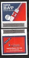 PAKISTAN MATCHBOX CRICKET BAT - Matchboxes