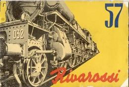 Catalogue RIVAROSSI 1957 Red Line - Yellow Line - Minobus - FIAT 600 English Edition - Boeken En Tijdschriften
