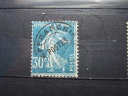 VEND TIMBRE PREOBLITERE DE FRANCE N° 60 !!! - 1893-1947