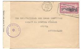 18589 - Avec Censure  Pour La SUISSE - 1907-1947 Dominion