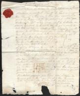Loiret-Lettre Avec Marque 43 ORLEANS-Pour Jolimetz Nord - 1801-1848: Précurseurs XIX