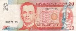 Philippines - Billet De 20 Piso - M.L. Quezon - 1993 - Philippines