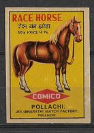 INDIA MATCHBOX LABEL HORSE - Matchbox Labels