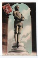 CPA - BON-SECOURS - La Statue De Jeanne D'Arc - Sculptures