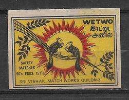 INDIA MATCHBOX LABEL - Matchbox Labels
