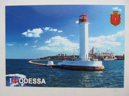 Ukraine Odessa Vorontsov Lighthouse From Big Set - Fari