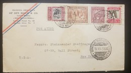 O) 1939 COLOMBIA- SCADTA SC C56-MAGDALENA RIVER AND TOLIMA VOLCANO, BANANAS - CATTLE. COFFEE PICKING SC 469, FROM SANTA - Colombia
