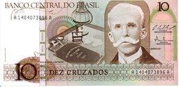 BRESIL   Billet 10 Dez Cruzados  Bank Banque TBE - Brasilien