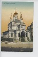 Genève : église Russe (cp Vierg N°98 Société Graphique Neuchatel) SG Animée, Enfant - GE Geneva