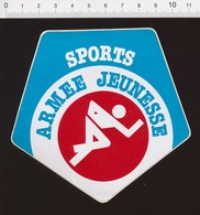 Autocollant Sticker Publicité Sports Armée Jeunesse 21ADH19 - Autocollants
