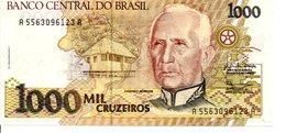 BRESIL   Billet 1000 Mil  Cruzados Bank Banque - Brasilien