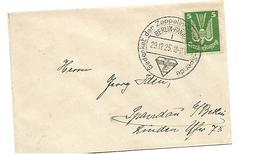 W-L080 / DEUTSCHES REICH - Zeppelin Eckner-Spende Auf Ortsdrucksache 29.12.25 - Briefe U. Dokumente