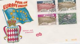 Monaco 1962 FDC Europa CEPT (G100-40) - Europa-CEPT